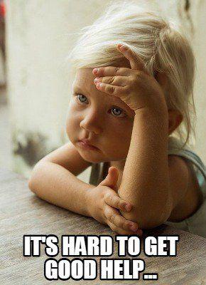 Gondterhelt kislány